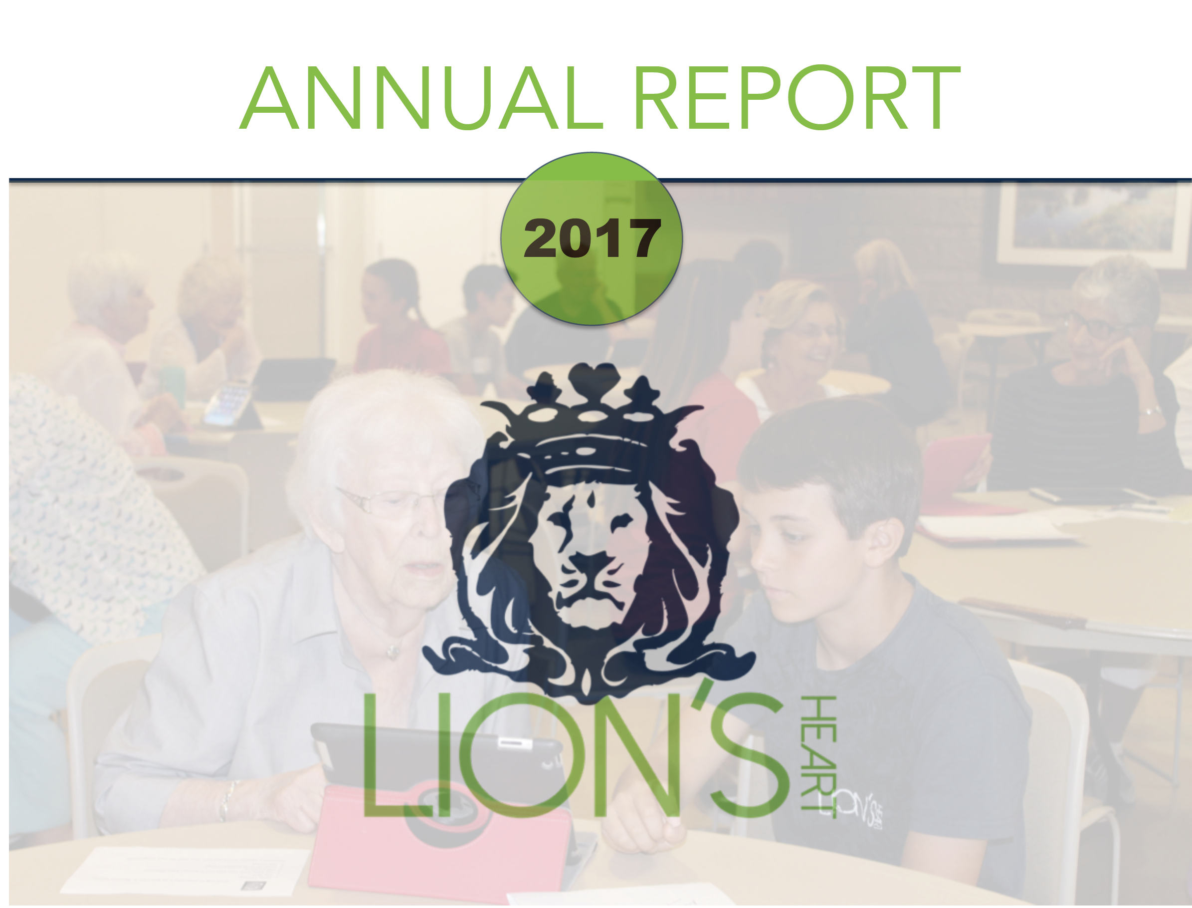 Lion's Heart 2017 annual report to download