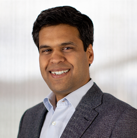 Photograph of Neeraj Sharma, member of the Board of Directors